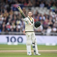 Another ton to the tally for Steve Smith Cricket Time, Cricket Poster, Steve Smith, Iphone Wallpapers, Urn, Sports, Australia, History, Hs Sports