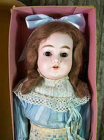 "20"" Handwerck with Original Clothes and Box - Dee's Dolls #dollshopsunited"
