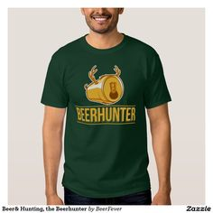 Beer& Hunting, the Beerhunter Tshirt #beer #hunter #hunting #deer #beerhunter #hobby #gift #men