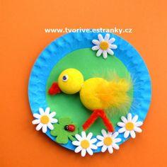 Stránky pro tvořivé - malé i velké - Fotoalbum - Jaro a Velikonoce - Obrázek s kuřátkem - P1380028