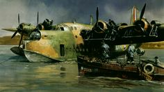 Short Sunderland by Michael Turner
