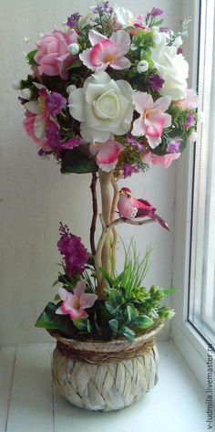 Flower Crafts, Diy Flowers, Floral Flowers, Flower Decorations, Fabric Flowers, Paper Flowers, Floral Wreath, Creative Flower Arrangements, Artificial Floral Arrangements