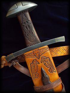 Hrafn - Ulfberht Sword Replica by Brendan Olszowy Fable Blades Viking Sword Maker