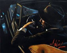 Fabian Perez, 1967 ~ Reflections of a Dream Classic Paintings, Original Paintings, Alone Man, Painting Gallery, Artist Gallery, The Villain, Abstract Canvas, Figurative Art, Contemporary Art