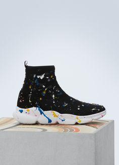 MSGM Drip sock sneakers