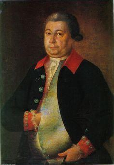 Антропов Алексей Петрович (1716 - 1795). Портрет А. М. Голицина