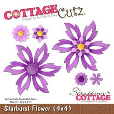 The Scrapping Cottage - Where CottageCutz are Always Blooming - CottageCutz 4x4 - Page 3