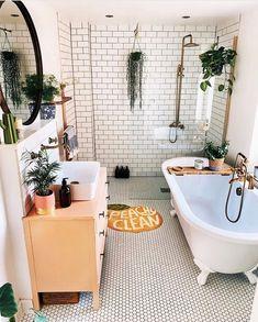 Bathroom Goals, Boho Bathroom, Urban Outfitters Home, Urban Outfitters Furniture, Uo Home, Home Improvement Loans, Dream Apartment, Apartment Ideas, Bathroom Interior Design
