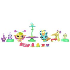 "Littlest Pet Shop Fairies Glistening Garden Playset - Moonlit Meadow - Hasbro - Toys ""R"" Us"