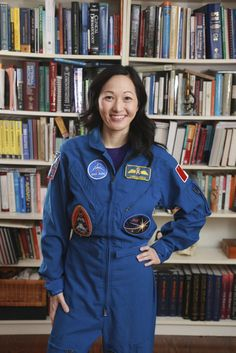 You never know what you can find in a vintage store. Dr. Julielynn Wong bought Canadian astronaut Chris Hadfield's flight suit.