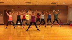 """Enjoy this high energy dance fitness workout to """"Smooth Criminal"""" that incorporates fast footwork, chasses and s. Dance Workout Videos, Zumba Videos, Dance Workouts, Workout Music, Cardio Workouts, Workout Tips, Zumba Fitness, Dance Fitness, Squat"""