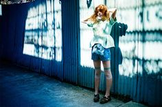 Vibrant and Whimsy Fashion Photography by Adele Cochrane #photography #art #fashion