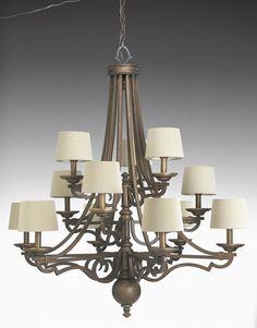Meeting Street Collection Roasted Java 12-Light Chandelier - http://chandelierspot.com/meeting-street-collection-roasted-java-12light-chandelier-541036889/