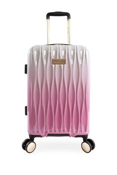 Color : Purple, Size : 24 Inches Jolly Luggage Super Lightweight Durable ABS Hardshell Hold Luggage Suitcases Travel Bags Trolley Case Hold Check in Luggage with 4 Wheels Built-in 3 Digit Combi