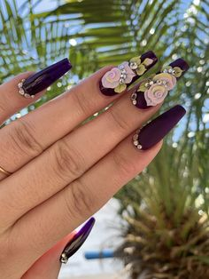Time to beautify your nails with creative Designs. Nail Art Designs are in vogue. Find the rarest and unique ideas to adorn glam nails with Nail. 3d Acrylic Nails, Summer Acrylic Nails, 3d Nail Art, 3d Nails, Cute Nails, Art 3d, 3d Nail Designs, Cute Acrylic Nail Designs, Glam Nails