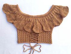Fabulous Crochet a Little Black Crochet Dress Ideas. Georgeous Crochet a Little Black Crochet Dress Ideas. Cardigan Au Crochet, Black Crochet Dress, Crochet Cardigan, Motif Bikini Crochet, Crochet Crop Top, Crochet Designs, Crochet Patterns, Crochet Summer Tops, Crochet Diy