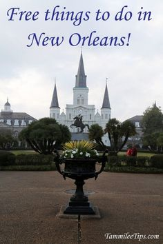 Great list of things to do in New Orleans for FREE! Including the French Quarter, food, photography, vacation tips, mardi gras, bourbon street and more!