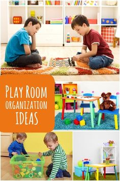 20 Play Room Organization: Favorite Products & Pins