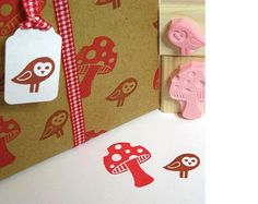 If you have any rubber stamps you could use them instead of the buttons. I love the simple tag too :)