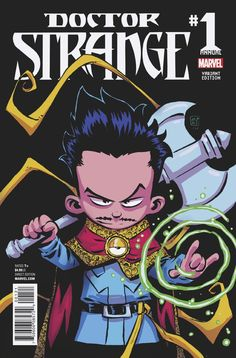 Doctor Strange Annual #1 (2016) Variant Cover by Skottie Young
