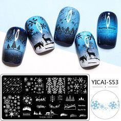 Nagel Stamping, Nail Stamper, Stencil Printing, Nail Art Images, Image Plate, Image Stamp, Nail Stamping Plates, Ancient Beauty, Nail Patterns