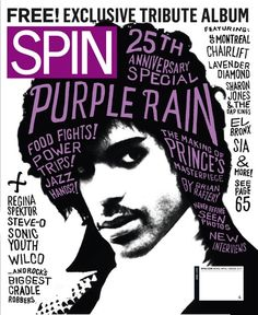 Spin cover of Prince; lettering by gray318