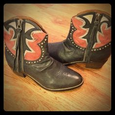 Sam Edelman Shane boots Leather boots, excellent condition. Only worn once. Sam Edelman Shoes Ankle Boots & Booties