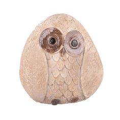 Stone snow owl Garden statue. Picked one up today at Lowes. LOVE IT. :3