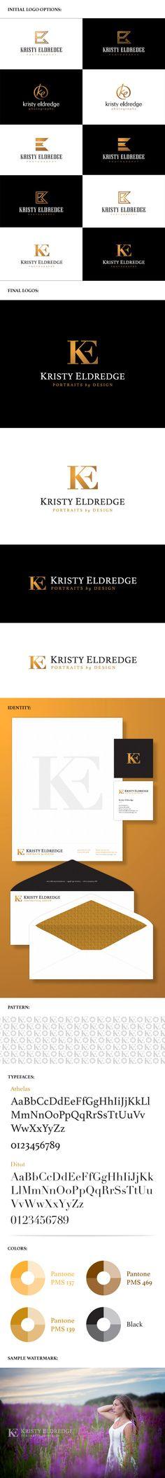 Kristy Eldredge Photography logo & branding package
