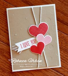 Stampin Up Heart Happiness. Stampin Up hearts. Stampin Up Valentines. Valentines day cards. Valentines ideas. Card ideas. Stampin Up cards.