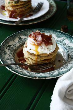 Pratos e Travessas: Panquecas de ervilhas e cenoura | Pea and carrot pancakes