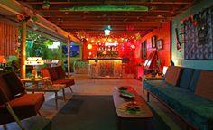Tiki / MCM basement bar