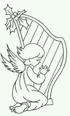 Angel & Harp