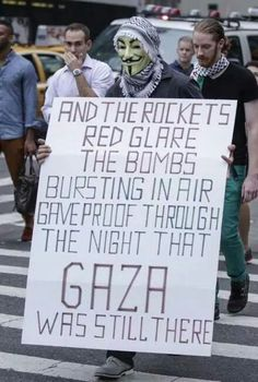We Support Gaza... We Are Anonymous