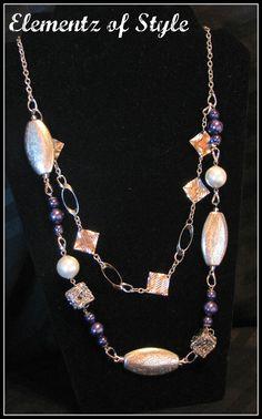 Catherine Handmade Necklace  www.elementzofstyle.com