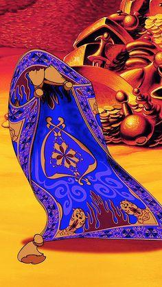 The Magic Carpet Disney Magic, Disney Frozen, Disney Art, Disney Pixar, Disney Stuff, Aladdin 1992, Aladdin Movie, Aladdin Wallpaper, Aladdin Magic Carpet