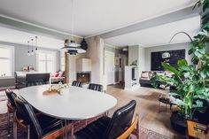 FIND - RODE LØKKA: Distinctive, light and lavish 3-bedroom. Refurbished 2014. Withdrawn. Delicious, sunny communal garden.