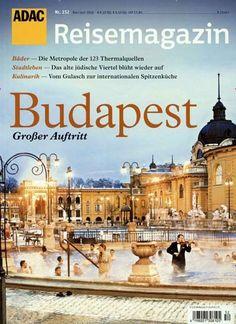 Budapest - Großer Auftritt. Gefunden in: ADAC reisemagazin, Nr. 152/2016