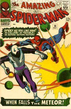 The Amazing Spider-Man (Vol. 1) 036 (1966/05) 3/25/2016 ®....#{T.R.L.}