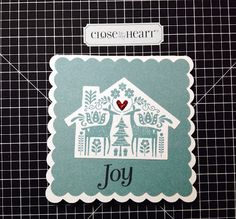 Simple Fun Crafter: Quick Christmas Thank you Card