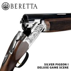 "Beretta Silver Pigeon I...Of the ""B"" guns, this is the one I will have and long to have...Shoulders perfect for me and is a phenomenal fit...Someday :-)"
