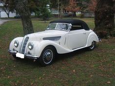 Classic 1939 BMW 327 Convertible. A BMW with a lot of style!