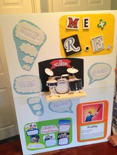 Aaron's RE Homework, with Pop-up drum kit! Likes And Dislikes, Drum Kits, Homework, Drums, 3d, Holiday, Projects, Log Projects, Vacations