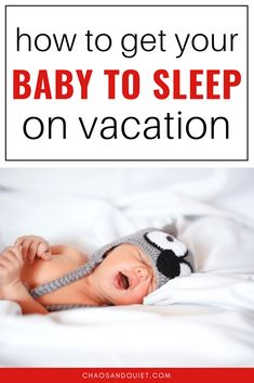Don't let fears about sleepless nights stop you from travelling! These 8 tricks will help your baby or toddler sleep on vacation. Toddler Sleep, Kids Sleep, Child Sleep, Toddler Girls, Traveling With Baby, Travel With Kids, Family Travel, Toddler Travel Activities, Baby Sleep Consultant