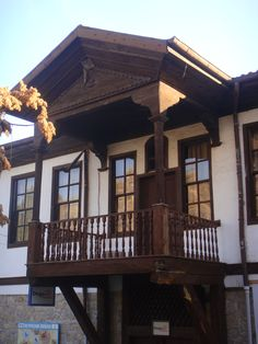 Traditional Old Ankara House. Beautiful Home Designs, Beautiful Homes, Castle House, My House, Ankara, Turkish Architecture, Urban Architecture, Istanbul, Cabin Style Homes