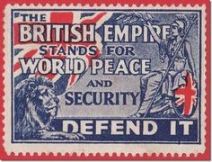 British Postage Stamp - how many oxymorons can you count? hahaha!