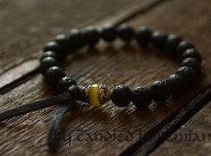 Strength & Harmony - Mens Bracelet, Yoga Bracelets, Yoga Jewelry, Tibetan Jewelry, Chakra Bracelet, Mens Jewelry, Beaded Bracelet, Men's Tibetan Bracelet, Mala Beads, Men Style, Men Fashion by CandiedBohemian, $37.90