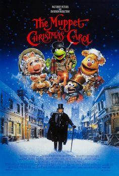 The Muppets Christmas Carol movie poster Christmas Movie Posters & Artwork #Christmasmovies #Christmas #movieposters #seasonal #snowmovies #dramamovies #actionmovies #scifimovies #adventuremovies #fantasymovies