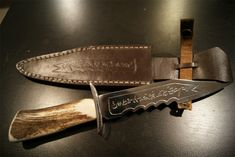 I want this knife. Along with the angel sword! I'm a nerd