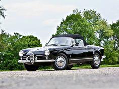 1958 Alfa Romeo Giulietta Spider 750 Series